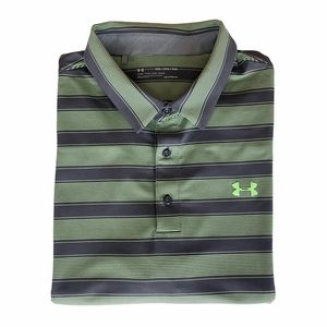 Under Armour Heat Gear Loose Fit Polo Shirt